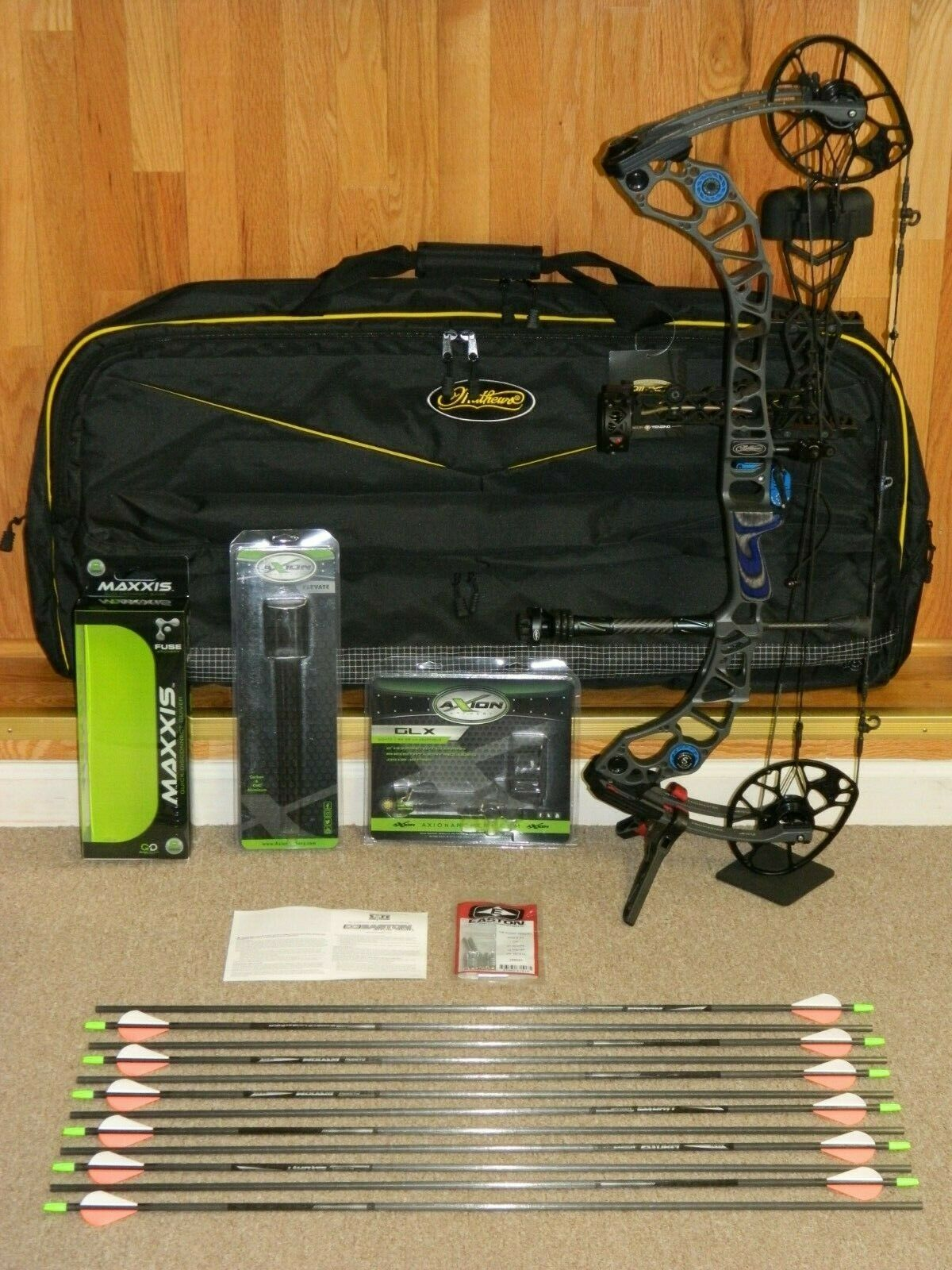 Loaded, Right Hand Mathews Halon 32 5 Bow Package -Stone Tactical - 60 to  70- up to 350 fps IBO